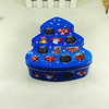fashion decorative tree shape chocolate gift tin container