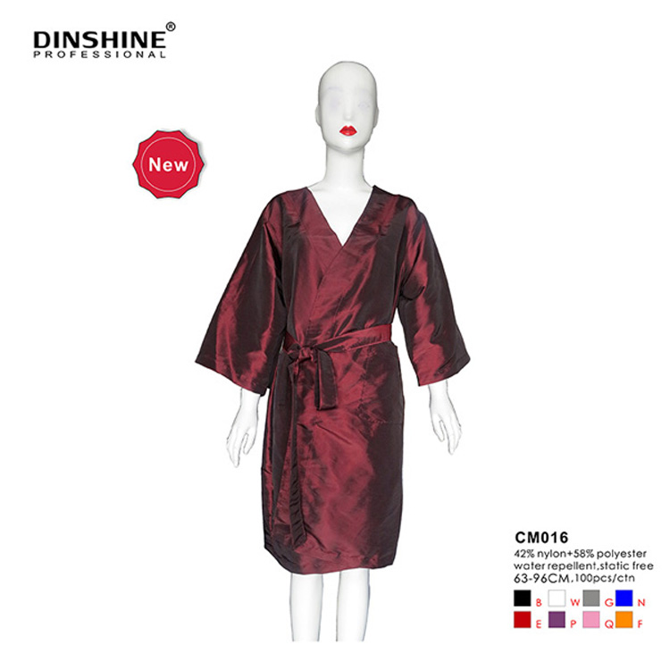 top quality and cheap beauty printed polyester kimono robe