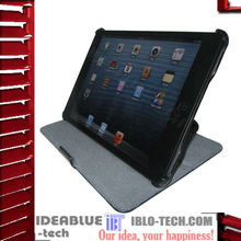 Carbon fiber leather design,for ipad stand case cover