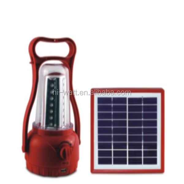9V/1.75W High Effiency Solar Panel & 3W Solar Lantern