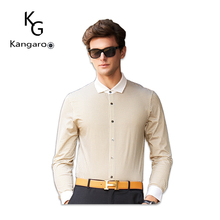 New Design Long-Sleeved Wild Shirt Slim Dot Men Casual Shirt