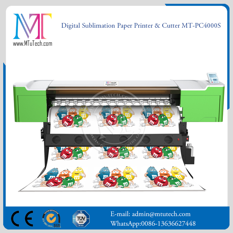 Quality Sublimation Printing Machine , Digital Sublimation Paper Printer & Cutter MT-PC4000S