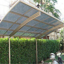 Polycarbonate Car Garage Shelter, Car Wash Tent , Outdoor Aluminum Car Parking Canopy For Sale