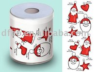 printed toilet roll (colorful ,paper )