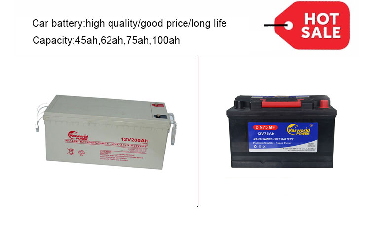 High Capacity 12v 200ah Sealed Rechargeable Lead Acid Battery