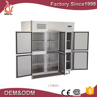 Commercial manufacture custom door Chest Freezer