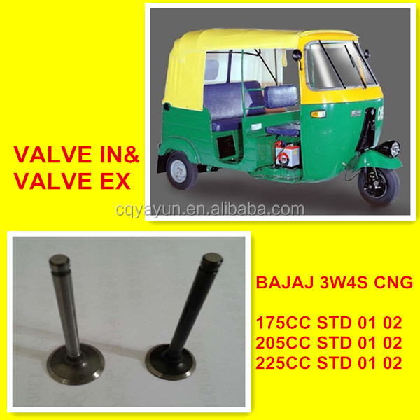 Bajaj Three wheeler 3W4S 175/205/225CC VALVE