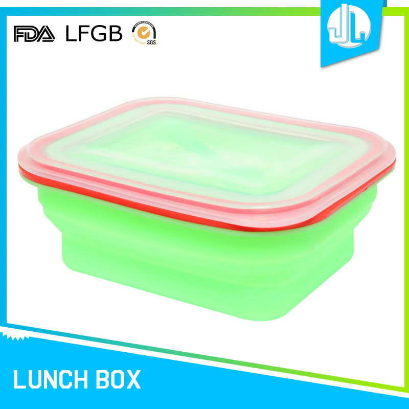 Space save safety material food grade leakproof bento boxes