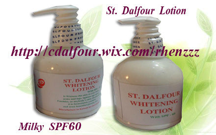 ST. DALFOUR WHITENING MILKY LOTION SPF60