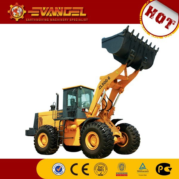 garden tractor with front loader CHANGLIN ZL50G-7 wheel loader price list