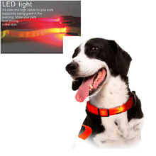 Unique design hot sale durable adjustable led dog collar