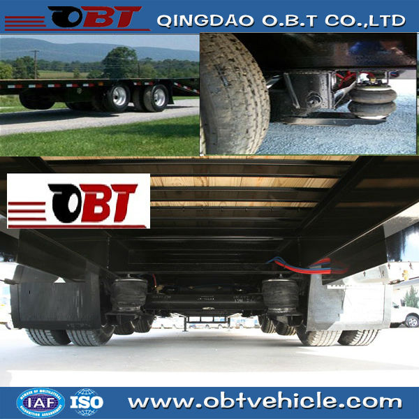 Air ride suspension systems with air bag for semi trailer