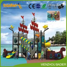 Hot selling high quality kindergarten playground slide game for sale