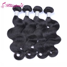 natural virgin peruvian body wave hair bundles