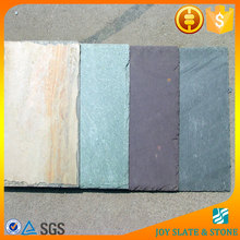 Red color roofing slate tiles stone/natural slate stone