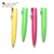 New Design Stationery Promotion Plastic Writing Ballpoint Pens With Clip