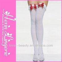 Wholesale 2013 White Fashion Tube Nylon Stocking