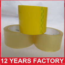 Alibaba Well Sealing Carton Sealing Use Strong Adhesive Clear Packing Tape Bopp With Custom Size
