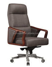 alibaba uae best selling products wooden arm high back office chair online shopping
