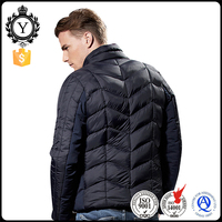 COUTUDI High Quality Durable China Foldable Winter Dark Blue Down Jacket For Men