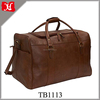 Genuine Leather Material Customized designed China overnight bags