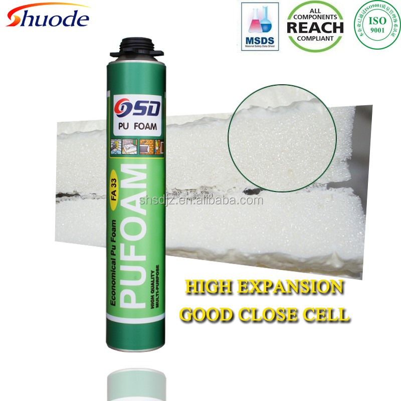wholesale waterproof non-flammable expanding insulation liquid spray polyurethane foam