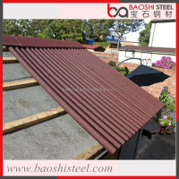Baoshi Steel secondary leak proof decorative metal roof gazebo