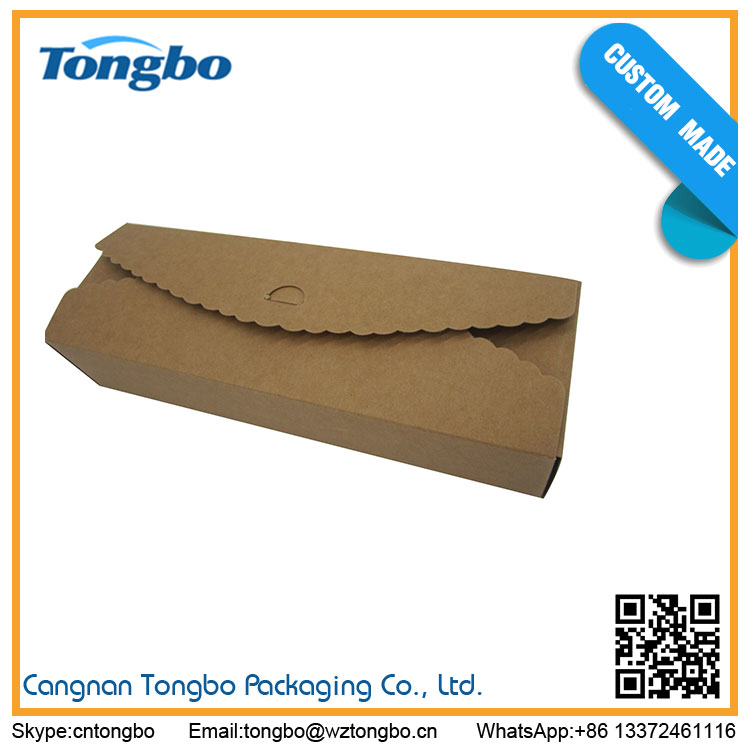 Wholesale Products China stock kraft paper cake box cupcake packaging box