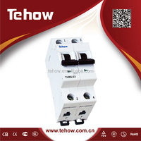 10KA new orignal design mcb B/C/D type avaliable C63 european mini circuit breaker