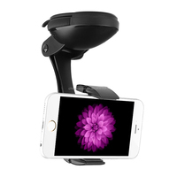 "Universal Car Phone Holder ""JPMax Pro"" - 360 Degree Rotation, Suction Cup + Twist Lock"