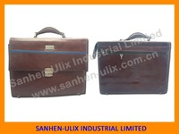 2015 NEWLY DESIGN BROWN COLOUR GENUINE LEATHER BRIEFCASE WITH COMBINATION LOCK,BRIEFCASE LEATHER
