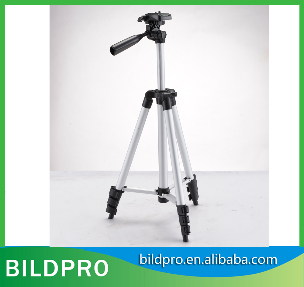 BILDPRO 1.3m Cheap Price Portable Flip Quick Lock Tourism Accessories Digital Aluminum Lightweight Tripod