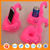 Fashionable giant swan inflatable pool float in batman shape