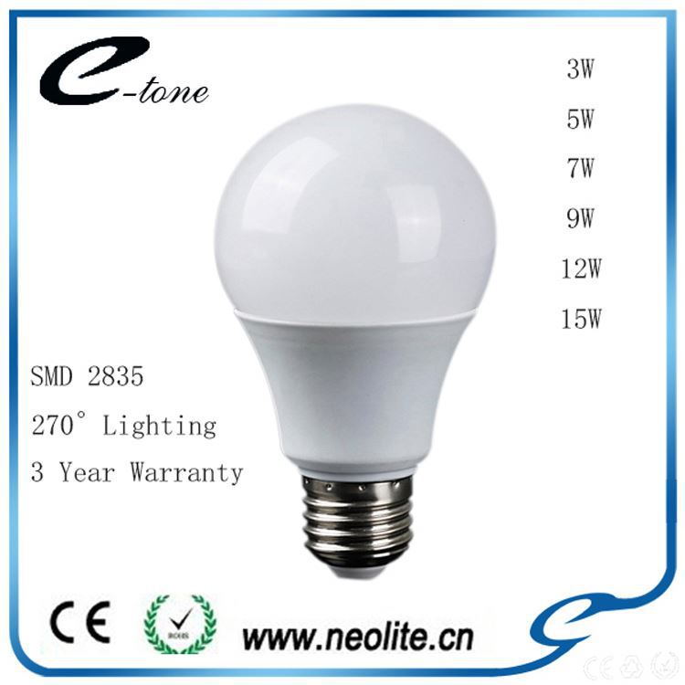Hot Sale Bulb, Special Design, 2835 SDM 3W E27 E26 Led lamp