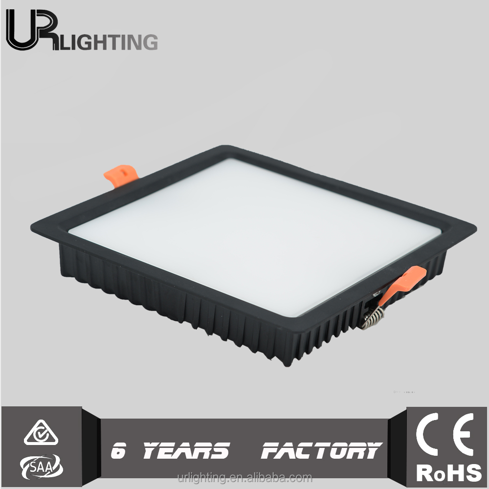 Office fitting surface mounted square 16w led light panel ceiling