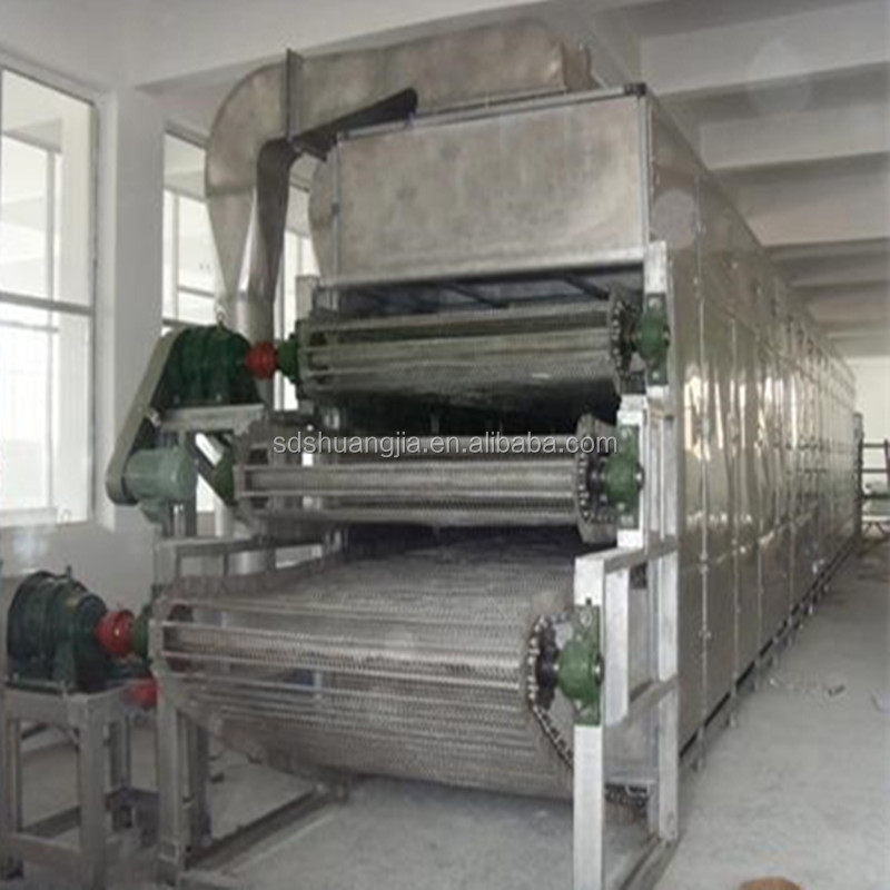 stainless steel cassava chips drying machine,cassava chips belt drying machine/dryer,cassava flour drying machinery