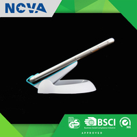 Hot sale desk portable plastic android mobile phone stand logo