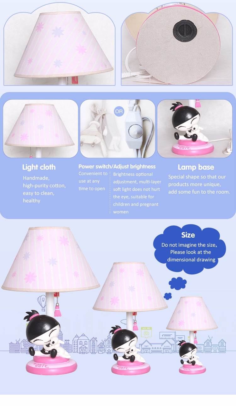 Wholesale low price contemporary bedroom dresser lamps