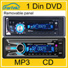 Universal auto car dvd 1 din with bluetooth, radio MP4, VCD, MP3