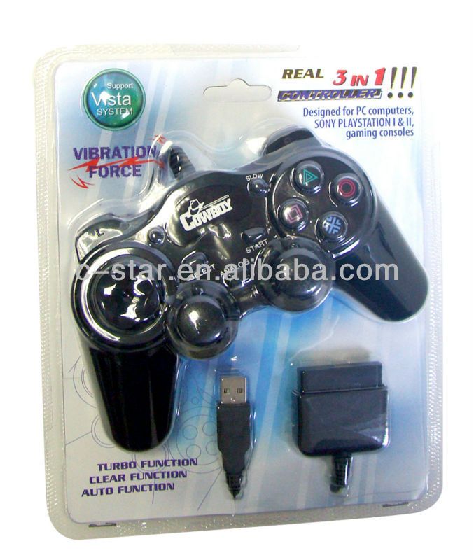 2017 For 3in1 P3/P2/USB game controller gamepad game pad for pc