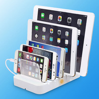 NewStyle, Hot selling! Multi Port USB Mobile Phone Charging Station for iPhone and for samsung