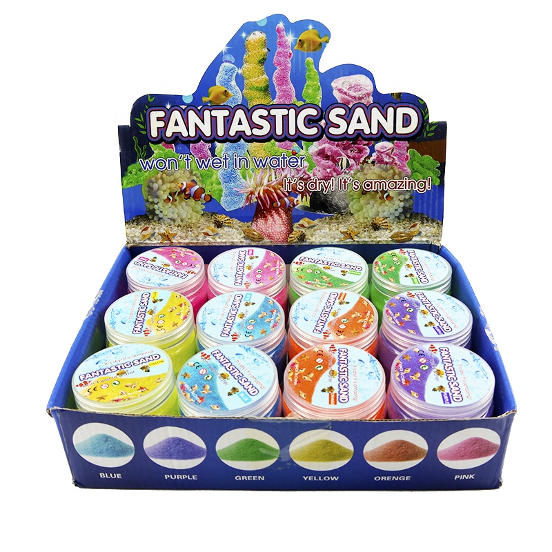 CE certified popular sell amazon magic sand toys kit for kids diy christmas toys