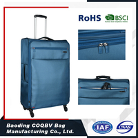 COQBV Super light custom color travel luggage