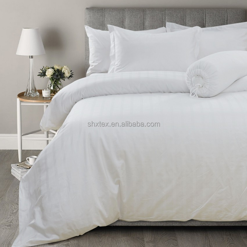 wholesale luxury egyptian cotton bed linen set for hotel and home use