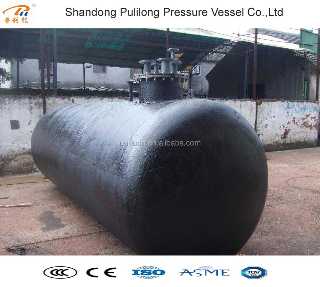 large capacity underground oil fuel tank with ASME certificate +86 18396857909