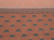 red mosaic asphalt roofing shingles prices/cheap roofing materials
