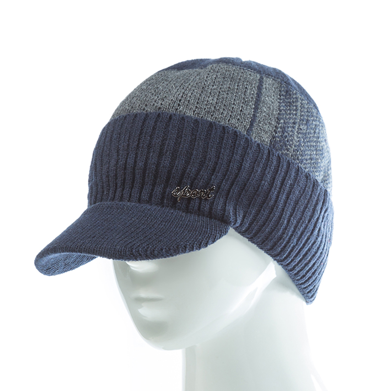 879579e05eb 2019 SANDMAN High Quality Cotton Fur Brim Winter Hats Skullies ...