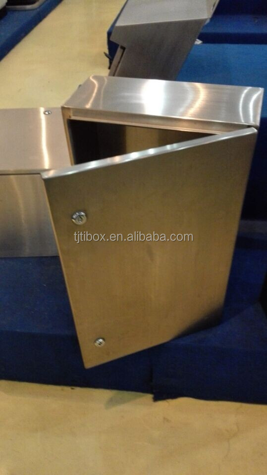 Large Outdoor Stainless Steel Electric Power Distribution Box /Junction Box/Enclosure with Lock