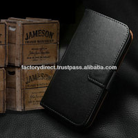 New Leather Flip Case Cover Pouch Bumper Wallet for iPhone 4 4G 4S Black Best Quality