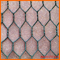 pvc coated steel chicken wire mesh/hexagonal chicken wire mesh with low price(factory)
